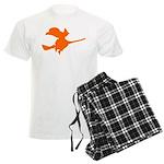 Orange Witch Men's Light Pajamas