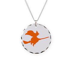 Orange Witch Necklace