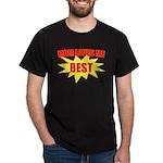 Mom Loves Me Best Black T-Shirt