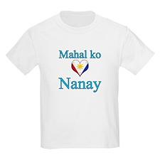I Love Mom (2) (Filipino) T-Shirt