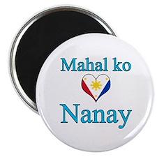 I Love Mom (2) (Filipino) Magnet
