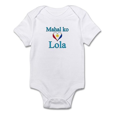 I Love Grandma (Filipino) Infant Bodysuit