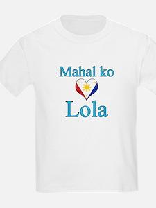 I Love Grandma (Filipino) T-Shirt