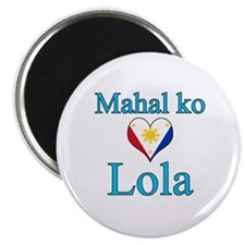I Love Grandma (Filipino) Magnet