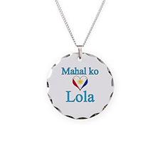 I Love Grandma (Filipino) Necklace
