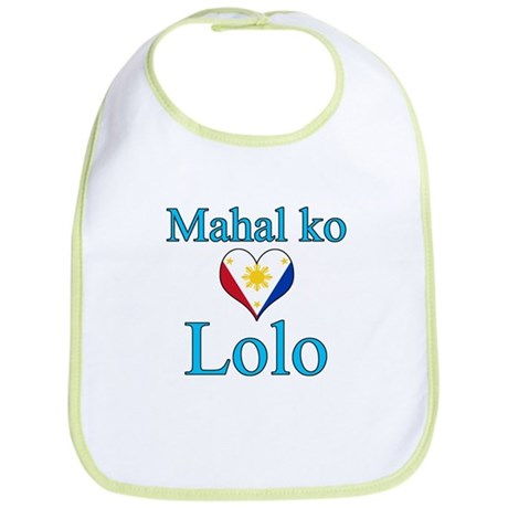 I Love Grandpa (Filipino) Bib