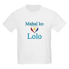 I Love Grandpa (Filipino) T-Shirt