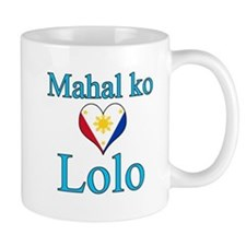 I Love Grandpa (Filipino) Mug