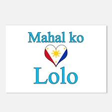 I Love Grandpa (Filipino) Postcards (Package of 8)