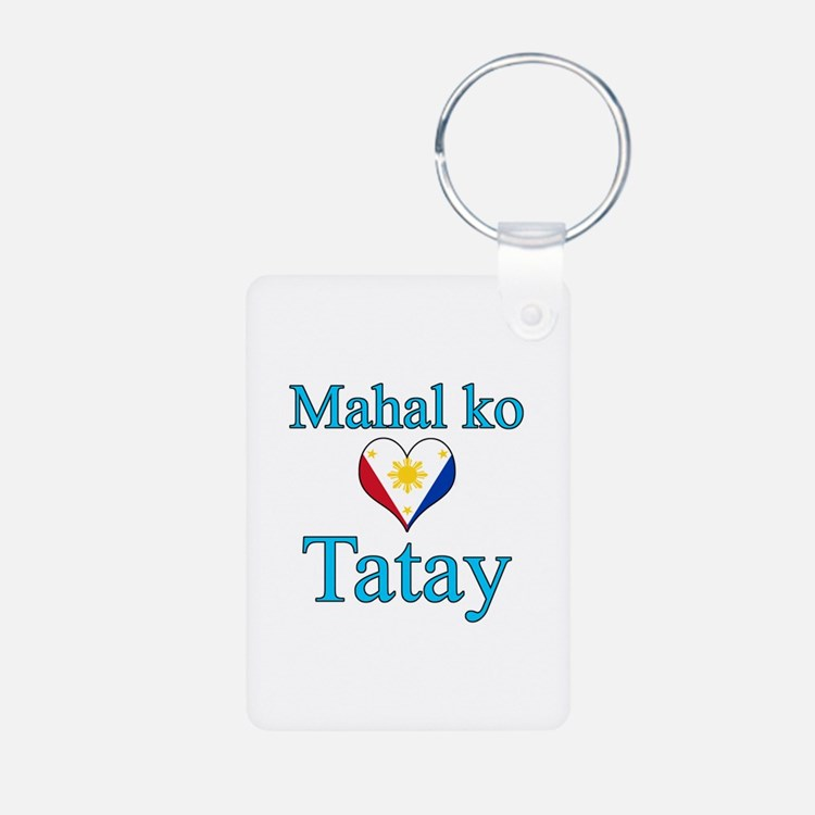 I Love Dad (2) (Filipino) Keychains