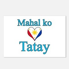 I Love Dad (2) (Filipino) Postcards (Package of 8)