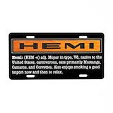 Hemi License Plates