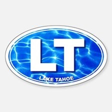LAKE TAHOE Water - LT Oval Decal