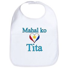 I Love Aunt (Filipino) Bib