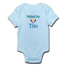 I Love Uncle (Filipino) Infant Bodysuit