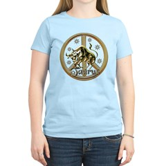 Taurus Zodiac Peace T-Shirt
