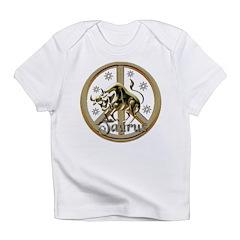 Taurus Zodiac Peace Infant T-Shirt