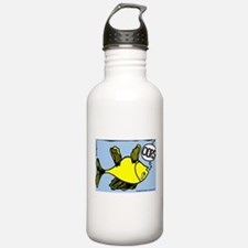 Up Side Down Fish! Water Bottle