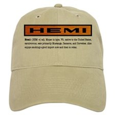 HEMI definition Baseball Cap