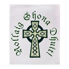 Celtic Cross Throw Blanket