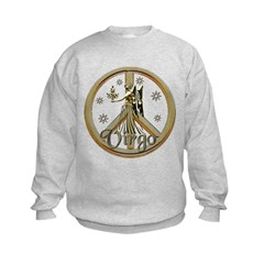 Virgo Zodiac Peace Sweatshirt