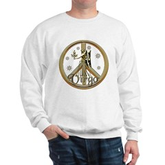 Virgo Zodiac Peace Sweatshirt