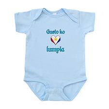 I Love Lumpia Infant Bodysuit