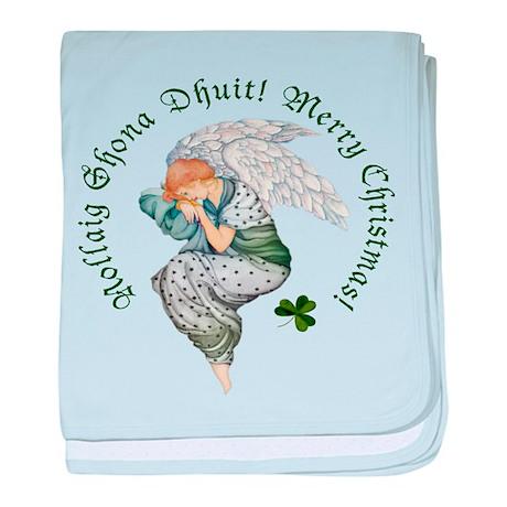 Irish Angel baby blanket