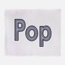POP metal Throw Blanket