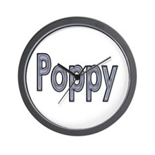 POPPY metal Wall Clock