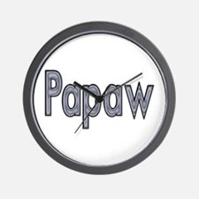 PAPAW metal Wall Clock