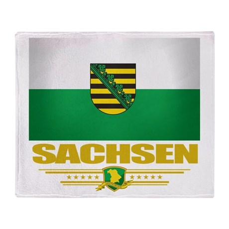 Sachsen Pride Throw Blanket