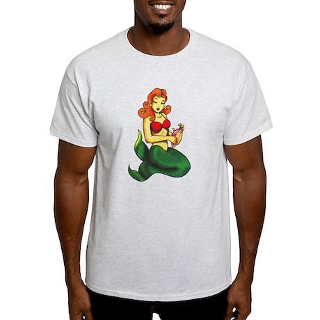Mermaid Tattoo Light T-Shirt