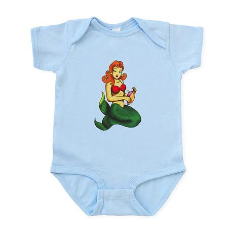Mermaid Tattoo Infant Bodysuit