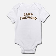 Camp Firewood Infant Bodysuit