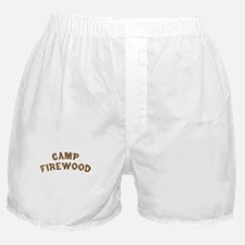 Camp Firewood Boxer Shorts
