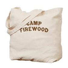 Camp Firewood Tote Bag