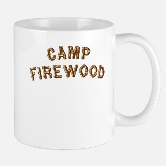 Camp Firewood Mug