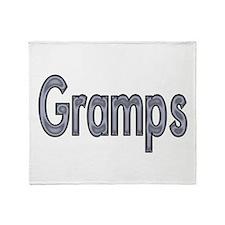 GRAMPS metal Throw Blanket