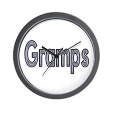 GRAMPS metal Wall Clock