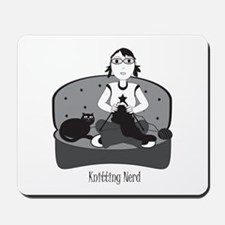 Knitting Nerd Mousepad