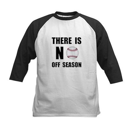 No Off Season Baseball Black Baseball Jersey