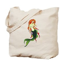 Mermaid Tattoo Tote Bag