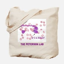 Hematology its a blast customizable Tote Bag
