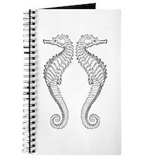 Vintage Seahorse Journal