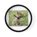 Swedish Vallhund Pup 9Y165D-131 Wall Clock