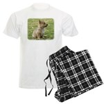 Swedish Vallhund Pup 9Y165D-1 Men's Light Pajamas