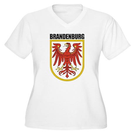 Brandenburg COA Women's Plus Size V-Neck T-Shirt