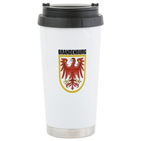 Brandenburg COA Stainless Steel Travel Mug