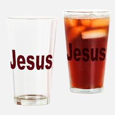Cute Jesus Drinking Glass